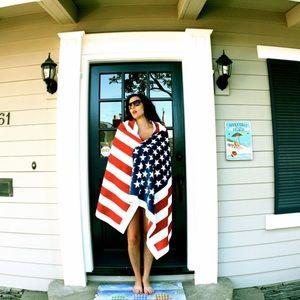 MARC JACOBS 1984 American Flag Beach Towel